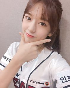 """[📷] Releasing IZ*ONE's baseball stadium photos to make everyone's weekend happy💕 "" Yuri, Japanese Girl Group, Cute Beauty, Pledis Entertainment, Her Smile, The Wiz, Korean Girl Groups, One Pic, My Girl"