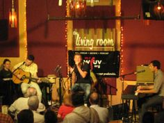 The Living Room - Live Music Venues in NYC. I saw Norah Jones in this intimate space about a year before she won all of her Grammy awards.
