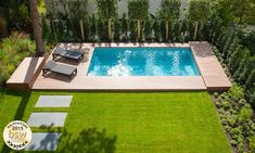 Natural Swimming Pools, Swimming Pools Backyard, Backyard Landscaping, Lap Pools, Natural Pools, Indoor Pools, Pool Decks, Landscaping Ideas, Riviera Pool