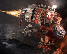 Oh, and when a Space Marine is almost killed, he might get entombed in a Dreadnought - A massive construct that can pack some serious punch and firepower. | Community Post: 25 Reasons Space Marines Are Awesome