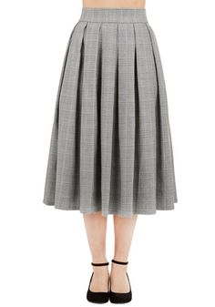 Leader of the Stacks Skirt, @ModCloth