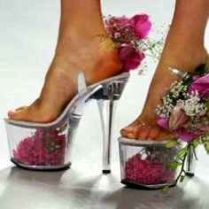 Lopen op bloemen!