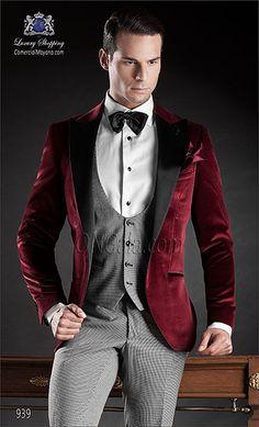 Traje de novio rojo 939 ONGala Wedding suit