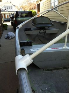 Fourtitude.com - DIY: Boat Cover (or tarp) Support