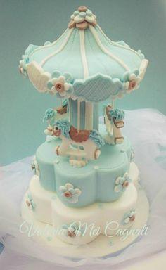 My Carousel cake - Cake by Valeria Mei Cagnoli - Cake designer