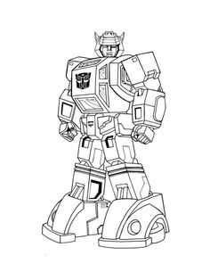 Transformers Coloring Pages Birthday Transformers Coloring Pages