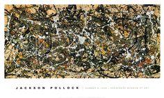 One, Number 31, 1950, Jackson Pollock (1912-1956). Huile sur toile (269 x 530 cm).