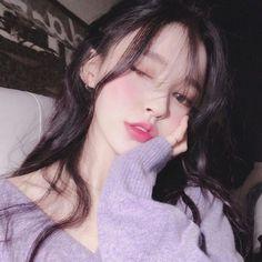Cute look ulzzang girl make up //Kim yoon rei Ulzzang Girl Selca, Couple Ulzzang, Ulzzang Korean Girl, Cute Korean Girl, Cute Asian Girls, Korean Beauty, Asian Beauty, Korean Makeup, Ullzang Girls