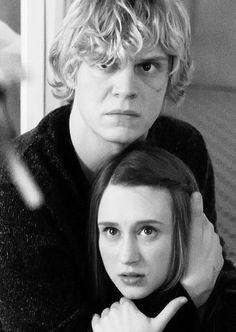 Violet Harmon and Tate Langdon