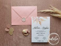 Invitatie nunta – Pampas & Roses