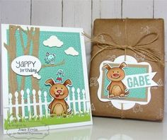 Boutique scrapbooking - Tampon Taylored Expressions chien mots
