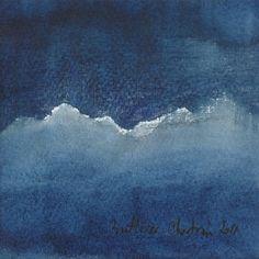 image_(110).jpg - Peinture,  11x11 cm ©2011 par Muriel Buthier-Chartrain -            paysage montagne aquarelle sur papier 100 % coton