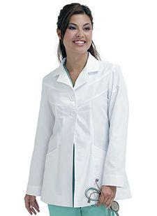 Lab Coats 8722 Swing Style Lab Jacket