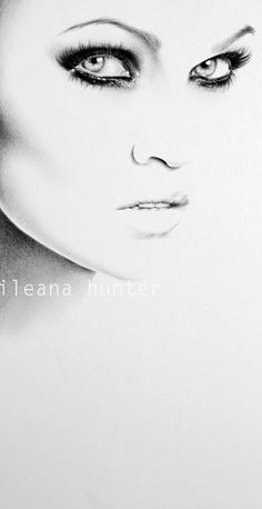 The Two Audreys By IleanaHunter Draw It BW Pinterest More - 22 stunning hype realistic drawings iliana hunter