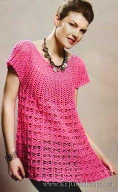 ergahandmade: Crochet Tunic + Diagram