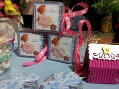 Nara Belle - Lembrancinhas de Aniversário do Tema Sarah Kay - Meninas Super delicado e suave