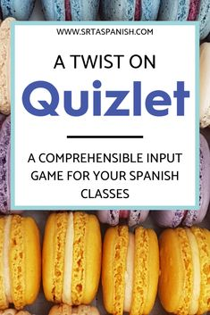 """Circumlocution Game: Scaffolding """"Head's Up"""" with Quizlet - SRTA Spanish Spanish Classroom Activities, Spanish Teaching Resources, Listening Activities, Vocabulary Activities, Class Activities, Vocabulary Strategies, Class Games, Spelling Activities, Preschool Worksheets"""