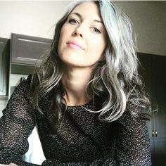 Gray Wig Lace Frontal Wigs permanent cure for grey hair – dianawigs Grey Hair Don't Care, Long Gray Hair, Grey Wig, Curly Gray Hair, Gray Hair Growing Out, Grow Hair, Salt And Pepper Hair, Natural Hair Styles, Long Hair Styles