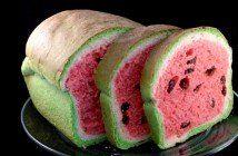Brood dat eruitziet als watermeloen, maak het nu zelf met dit leuke recept!