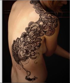 I would love a back piece like this!