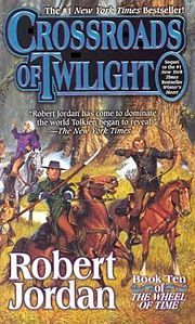 """Crossroads of Twilight"" by Robert Jordan the tenth book in the Wheel of Time series (which is my personal favorite.)"