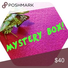 ✨Mystery Box!✨ Love surprises? Grab this mystery box! Box will include 3 beauty products and 1 small accessory (i.e. scarf, sunglasses, jewelry or wallet) and all products will be NWT. Comment on this post telling me your favorite beauty products, colors and brands and I'll do my best to taylor to your preferences! Remember box is a mystery so any items you don't like can be re-poshed! Value will be at least $50! Makeup