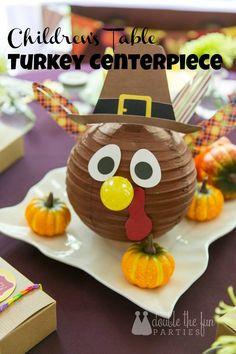 DFP Thanksgiving Turkey Centerpiece