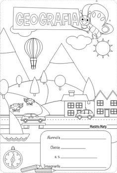 copertina di geografia Geography, Homeschool, Diagram, 1, Education, School, Geography Activities, 1st Grades, Teachers