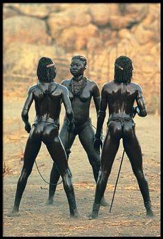 Leni Riefenstahl, Portfolio - 3 Dancers