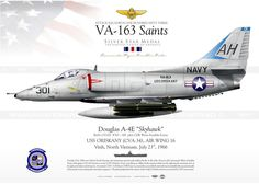 "A-4E ""Skyhawk"" VA-163 ""Saints"" JP-961"