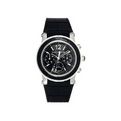 Juicy Couture Hrh Black Rubber Ladies Watch -- Don't get left behind, see this great  product