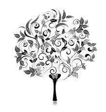 filigree tree design - Google Search