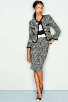 I never wear suits... but if I HAD too it would be this J Crew number