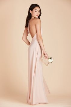 7dea4999795 Shop Birdy Grey Moni convertible bridesmaid dress in Pale Blush for under   100. The blush