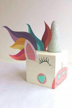 Unicorn Valentines box