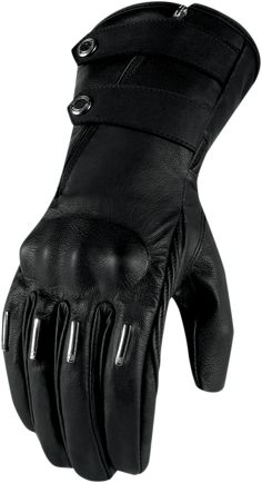 Kangaroo leather, refined look, and peerless comfort, the Hella Kangaroo Glove is for women who accept nothing less than the finest in life. Integrated knuckle armor ensures that safety is out of sight, but not out of mind. For a sumptuous take on motorcycle protection, the Hella Kangaroo Glove is your glove of choice. from Icon Motosports