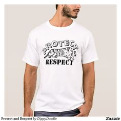 Protect and Respect wildlife conservation t shirt