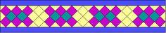 Four Crossed Logs (Austin CC Mathematics of Seminole Patchwork)