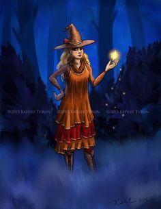 Harvest Witch by ADKKitty.deviantart.com on @DeviantArt