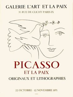 Pablo Picasso, Art Picasso, Michel Ciry, Fernand Raynaud, Art Exhibition Posters, Framed Artwork, Wall Art, Plakat Design, Georges Braque