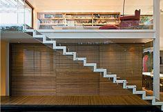 escadaria guarda corpo de vidro - Pesquisa Google