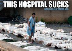 Rick Grimes at the Hospital.