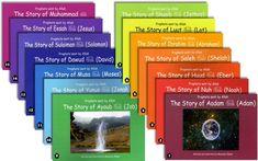 Prophets Sent By Allah: Set Of 15 Books (Adam To Muhammad) New Books, Good Books, Uplifting Books, Ramadan Gifts, Ramadan Decorations, Son Love, Kids Boxing, Muhammad, Books Online