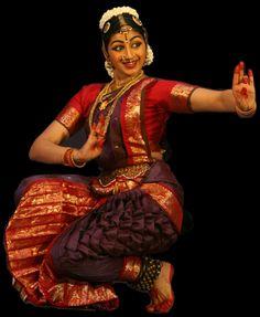 Bharatanatyam dancer. India