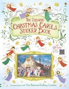 Usborne Books At Home Christmas Carol, Sticker, Santa, Books, Libros, Christmas Music, Book, Book Illustrations, Decal