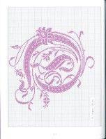 """Gallery.ru / logopedd - Album """"Belles lettres au point de croix"""""""