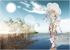 Futura artistic outfit for Second Life Birthday 8! by . Nevery Lorakeet *LpD* ., via Flickr