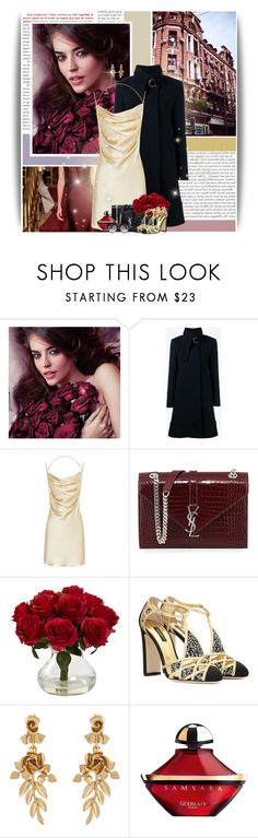 """""In other words, hold me."" - Fly Me To The Moon"" by andrea-garzon ❤ liked on Polyvore featuring Zac Posen, Vanity Fair, Avon, Chloé, Yves Saint Laurent, Dolce&Gabbana, Oscar de la Renta, Guerlain and Alexander McQueen"