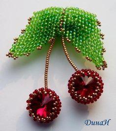 Craft ideas 4211 - Pandahall.com #cherry #beadedjewelry #pandahall