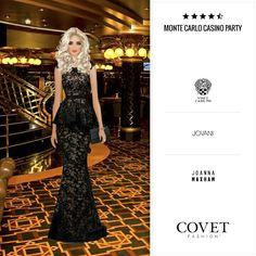 Monte Carlo Casino party. Jet set. COVET FASHION by Erika Boveri